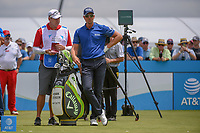 Henrik Stenson (SWE) looks over his tee shot on 2 during round 1 of the AT&amp;T Byron Nelson, Trinity Forest Golf Club, Dallas, Texas, USA. 5/9/2019.<br /> Picture: Golffile | Ken Murray<br /> <br /> <br /> All photo usage must carry mandatory copyright credit (&copy; Golffile | Ken Murray)