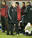 29/12/2010   Copyright  Pic : James Stewart.sct_jsp007_craig_brown  .::  ABERDEEN MANAGER CRAIG BROWN BLOWS A SIGH OF RELIEF AS HE SEES HIS SIDE BEAT HAMILTON IN THE LAST MINUTE  ::.James Stewart Photography 19 Carronlea Drive, Falkirk. FK2 8DN      Vat Reg No. 607 6932 25.Telephone      : +44 (0)1324 570291 .Mobile              : +44 (0)7721 416997.E-mail  :  jim@jspa.co.uk.If you require further information then contact Jim Stewart on any of the numbers above.........