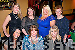 having great fun in the Munster bar,Tralee last Sunday night for womans little Christmas were (front) l-r: Sarah Monaghan, Margaret O'Connor and Helen Coffey. Back l-r: Michelle O'Sullivan, Noelle Robb, Mandy O'Connor and Poppy Cregan.