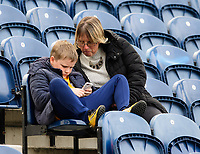 Preston North End fans enjoy the pre-match atmosphere <br /> <br /> Photographer Chris Vaughan/CameraSport<br /> <br /> The EFL Sky Bet Championship - Preston North End v Reading - Saturday 15th September 2018 - Deepdale - Preston<br /> <br /> World Copyright &copy; 2018 CameraSport. All rights reserved. 43 Linden Ave. Countesthorpe. Leicester. England. LE8 5PG - Tel: +44 (0) 116 277 4147 - admin@camerasport.com - www.camerasport.com