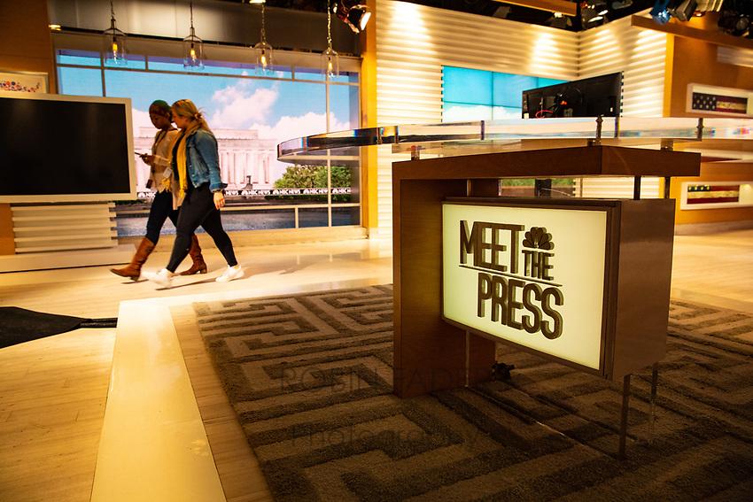 Meet the Press studio.