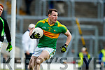Mark Griffin South Kerry in action against  Kerins O'Rahillys in the Kerry Senior Football Championship Semi Final at Fitzgerald Stadium on Saturday.
