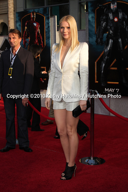 "Gwyneth Paltrow .arrives at  the ""Iron Man 2"" Premiere.El Capitan Theater.Los Angeles, CA.April 26, 2010.©2010 Kathy Hutchins / Hutchins Photo..."