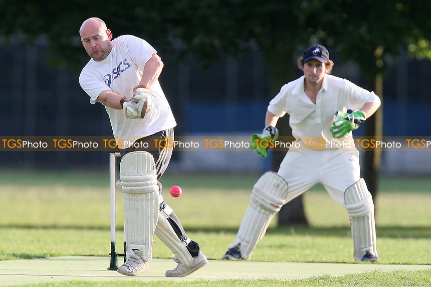 Martians CC (batting) vs Pumas CC - Victoria Park Community Cricket League - 13/06/11 - MANDATORY CREDIT: TGSPHOTO - Self billing applies where appropriate - Tel: 0845 094 6026