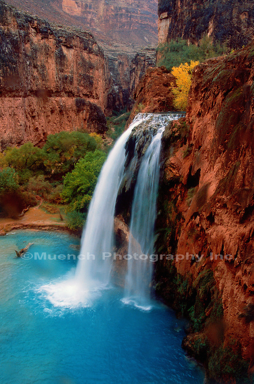 Havasu Falls, Havasupi, Grand Canyon National Park