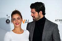 Actress Alejandra Onieva and Miguel Angel Munoz attends presentation of 'Presunto Culpable' during FestVal in Vitoria, Spain. September 05, 2018. (ALTERPHOTOS/Borja B.Hojas) /NortePhoto.com NORTEPHOTOMEXICO