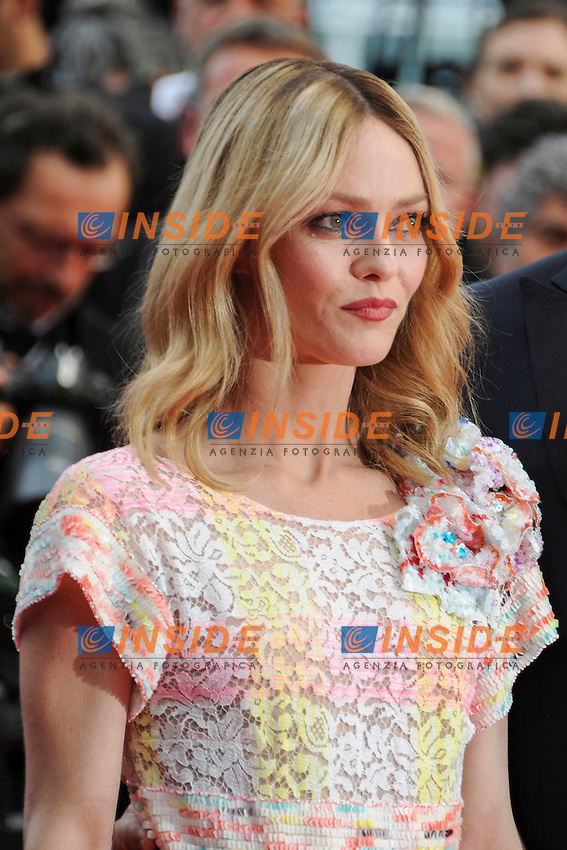 VANESSA PARADIS<br /> Festival di Cannes 2016 <br /> Foto Panoramic / Insidefoto