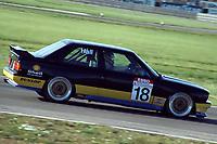 Final round of the 1991 British Touring Car Championship. #18 Godfrey Hall (GBR). Pyramid Motorsport. BMW M3.
