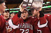 Tyler Moy (Harvard - 2), Phil Zielonka (Harvard - 72), Clay Anderson (Harvard - 5) - The Harvard University Crimson defeated the Boston University Terriers 6-3 (EN) to win the 2017 Beanpot on Monday, February 13, 2017, at TD Garden in Boston, Massachusetts.