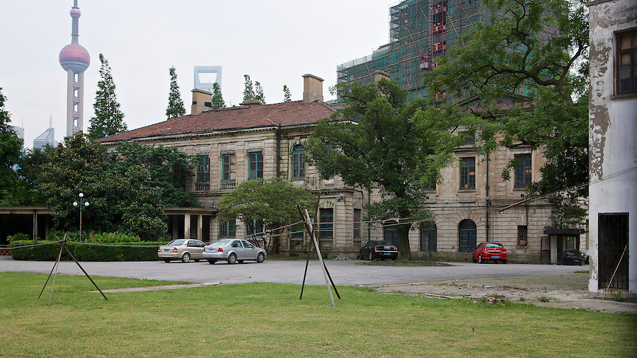 The Rear Of The Consulate (North Elevation).  This Image Is From 2008 And Predates The Restoration Of The Compound.