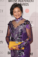 Cheng Pei Pei arriving for the British Independent Film Awards 2014 at Old Billingsgate, London. 07/12/2014 Picture by: Steve Vas / Featureflash