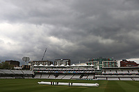 Dark clouds over the ground as bad light delays play during Middlesex CCC vs Essex CCC, Specsavers County Championship Division 1 Cricket at Lord's Cricket Ground on 24th April 2017