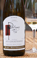 "Partager Avec Toi (""share it with you"") 2004 Les Charmes Kritt Gewurztraminer Domaine Marc Kreydenweiss, Andlau, Alsace, France"