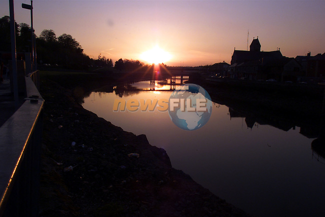 Drogheda Sunset..Picture: Arthur Carron/Newsfile