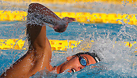 Trofeo Settecolli di nuoto al Foro Italico, Roma, 15 giugno 2013.<br /> Gregorio Paltrinieri , of Italy, competes in the men's 1500 meters Freestyle at the Sevenhills swimming trophy in Rome, 15 June 2013.<br /> UPDATE IMAGES PRESS/Isabella Bonotto