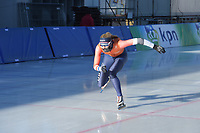SPEED SKATING: COLLALBO: Arena Ritten, 11-01-2019, ISU European Speed Skating Championships, training, Jutta Leerdam (NED), ©photo Martin de Jong