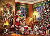 Interlitho, CHRISTMAS SANTA, SNOWMAN, WEIHNACHTSMÄNNER, SCHNEEMÄNNER, PAPÁ NOEL, MUÑECOS DE NIEVE, paintings+++++,KL6076V,#X# ,Simonetta