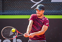 Rotterdam, Netherlands, August 22, 2017, Rotterdam Open, Axel Michon (FRA)<br /> Photo: Tennisimages/Henk Koster
