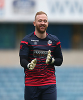 Bolton Wanderers' Ben Alnwick during the warm-up<br /> <br /> Photographer Rob Newell/CameraSport<br /> <br /> The EFL Sky Bet Championship - Millwall v Bolton Wanderers - Saturday 24th November 2018 - The Den - London<br /> <br /> World Copyright &copy; 2018 CameraSport. All rights reserved. 43 Linden Ave. Countesthorpe. Leicester. England. LE8 5PG - Tel: +44 (0) 116 277 4147 - admin@camerasport.com - www.camerasport.com