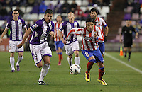 Radamel Facao during Real Valladolid V Atletico de Madrid match of La Liga 2012/13. 17/02/2012. Victor Blanco/Alterphotos /NortePhoto