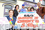BBQ: Volunteers and management with the X-istance Youth Cafe? in Listowel who are holding a fundraiser on Sunday next, l-r: Louise Lyons (NEKD), Jean Allen Goggin, Christy Walsh, Rhiannon McNulty, Chloe O'Sullivan, Liam Brennan.