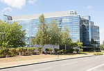 Bayer plc pharmaceutical company headquarters building, Green Park Business Park, Reading, Berkshire, England, UK