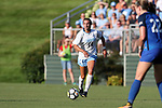 CARY, NC - AUGUST 18: North Carolina's Morgan Goff. The University of North Carolina Tar Heels hosted the Duke University Blue Devils on August 18, 2017, at Koka Booth Stadium in Cary, NC in a Division I college soccer game.