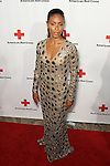 "JADA PINKETT SMITH. Red carpet arrivals to the annual ""Red Tie Affair,"" benefitting the American Red Cross of Santa Monica, and honoring the humanitarian spirit of those who have shown courage, unselfish character and whose work has saved lives. At the Fairmont Miramar. Santa Monica, CA, USA. April 17, 2010."