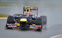 SPA FRANCORCHAMPS, BELGICA, 31 AGOSTO 2012  - F1 - GP DA BELGICA - O piloto Mark Webber da equipe Red Bull durante segundo dia de treinos livres para o GP da Belgica que acontece no proximo domingo. (FOTO: PIXATHLON / BRAZIL PHOTO PRESS).