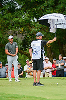 Jason Day (AUS) prepares to tee off on 5 during Friday's round 2 of the PGA Championship at the Quail Hollow Club in Charlotte, North Carolina. 8/11/2017.<br /> Picture: Golffile | Ken Murray<br /> <br /> <br /> All photo usage must carry mandatory copyright credit (&copy; Golffile | Ken Murray)
