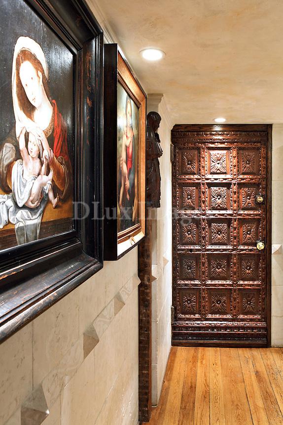 baroque style hallway