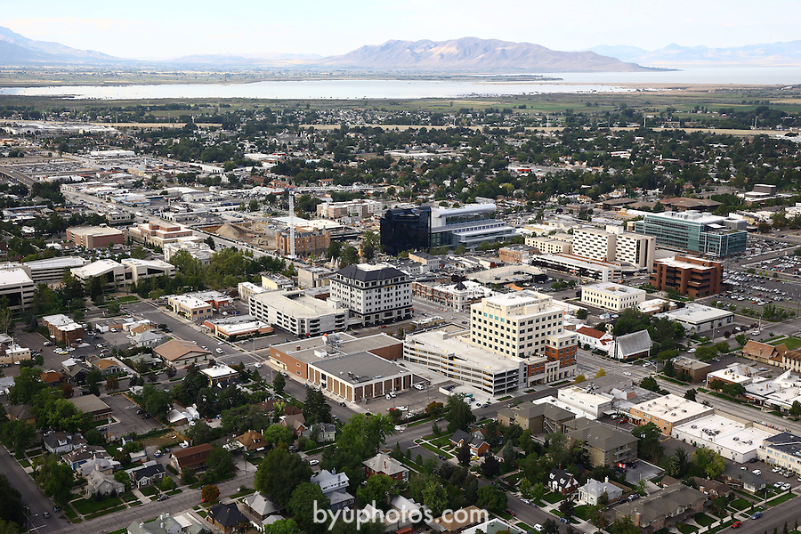 1309-22 2754<br /> <br /> 1309-22 BYU Campus Aerials<br /> <br /> Brigham Young University Campus, Provo, <br /> <br /> Downtown Provo City, Utah Valley, Y Mountain, Sunrise<br /> <br /> September 6, 2013<br /> <br /> Photo by Jaren Wilkey/BYU<br /> <br /> © BYU PHOTO 2013<br /> All Rights Reserved<br /> photo@byu.edu  (801)422-7322
