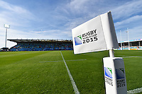 Rugby World Cup Pool C match between Tonga and Namibia on September 29, 2015 at Sandy Park in Exeter, England. Photo by: Patrick Khachfe / Onside Images
