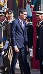 President of the Spanish government Pedro Sanchez  during the Military parade because of the Spanish National Holiday. October 12, 2019.. (ALTERPHOTOS/ Francis Gonzalez)