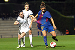 Spanish Women's Football League Iberdrola 2017/18 - Game: 9.<br /> FC Barcelona vs Madrid CFF: 7-0.<br /> Ona Batlle vs Natasha Andanova.