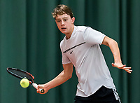 Wateringen, The Netherlands, March 9, 2018,  De Rijenhof , NOJK 12/16 years, Guy den Ouden (NED)<br /> Photo: www.tennisimages.com/Henk Koster