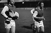 22/11/80 Blackpool v Fleetwood Town FAC 1 Fleetwood players leave the pitch...©  Phill Heywood