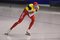 SCHAATSEN: CALGARY: Olympic Oval, 10-11-2013, Essent ISU World Cup, 5000m, Bart Swings (BEL), ©foto Martin de Jong
