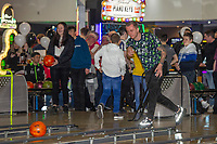 Pictured: Ben Wilmot of Swansea City during the Swansea player and fans bowling evening at Tenpin Swansea, Swansea, Wales, UK. Wednesday 22 January 2020