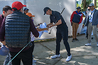 Jordan Spieth (USA) signs autographs on his way to the driving range before round 1 of the World Golf Championships, Mexico, Club De Golf Chapultepec, Mexico City, Mexico. 2/21/2019.<br /> Picture: Golffile | Ken Murray<br /> <br /> <br /> All photo usage must carry mandatory copyright credit (© Golffile | Ken Murray)