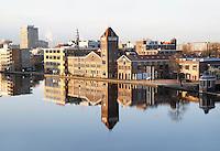 Nederland Zaandam 2016. Zaandam aan de Zaan. De oude Verkade fabriek. Foto Berlinda van Dam / Hollandse Hoogte