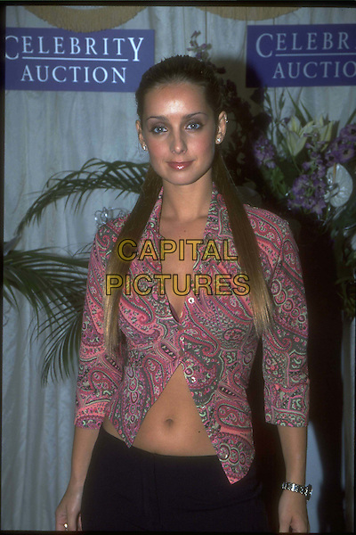 LOUISE REDNAPP - LOUISE NURNING..Ref:10097..belly button, stomach, extensions, half length, half-length ..www.capitalpictures.com..sales@capitalpictures.com..©Capital Pictures