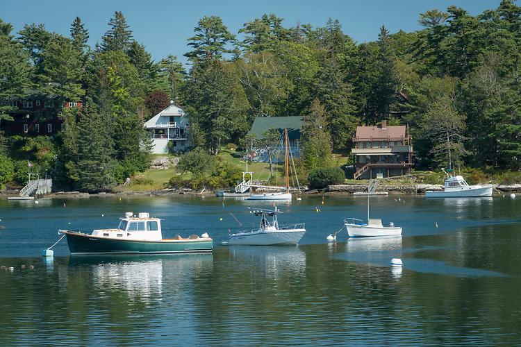 Minutes away from Boothbay Harbor, Southport, Maine this quaint little cove is just picture perfect.
