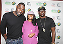 Actors Idris Elba, Tatyana Ali and Lance Gross pose photos at the Toyota SWAC 2014 Championship Game