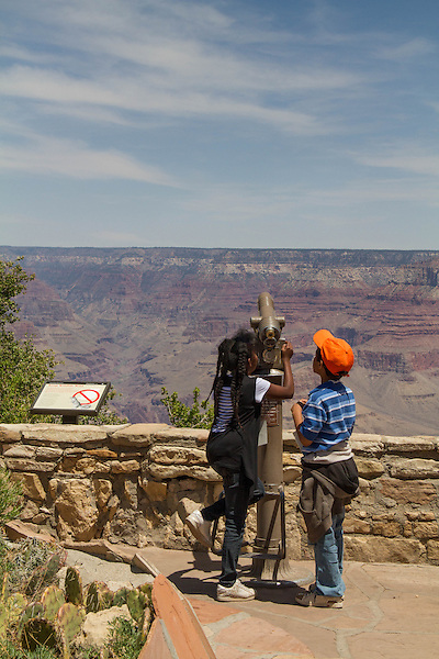 Students at South Rim of Grand Canyon National Park, Arizona . John offers private photo tours in Grand Canyon National Park and throughout Arizona, Utah and Colorado. Year-round.