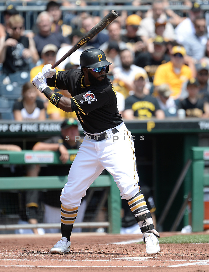 Pittsburgh Pirates Josh Harrison (5) during a game against the Los Angeles Dodgers on June 27, 2016 at PNC Park in Pittsburgh, PA. The Dodgers beat the Pirates 4-3.