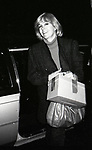 Kim Novak at her Hotel on January 17, 1983 in New York City.
