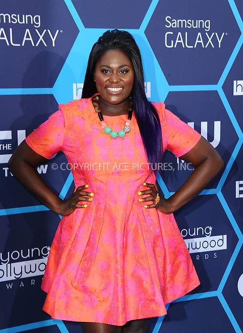 ACEPIXS.COM<br /> <br /> July 27 2014, LA<br /> <br /> Danielle Brooks arriving at the 2014 Young Hollywood Awards at The Wiltern on July 27, 2014 in Los Angeles, California. <br /> <br /> By Line: Peter West/ACE Pictures<br /> <br /> ACE Pictures, Inc.<br /> www.acepixs.com<br /> Email: info@acepixs.com<br /> Tel: 646 769 0430