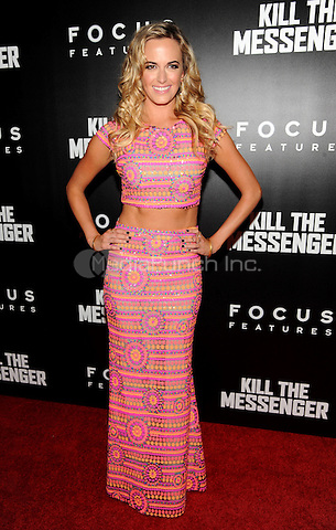 New York, NY- October 9:  Jena Sims attends the  'Kill the Messenger' New York Premiere at the Museum of Modern Art on October 9, 2014 in New York City. Credit: John Palmer/MediaPunch