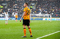 Hail falls on Hull City's Matthew Pennington<br /> <br /> Photographer Alex Dodd/CameraSport<br /> <br /> The EFL Sky Bet Championship - Hull City v Leeds United - Saturday 29th February 2020 - KCOM Stadium - Hull<br /> <br /> World Copyright © 2020 CameraSport. All rights reserved. 43 Linden Ave. Countesthorpe. Leicester. England. LE8 5PG - Tel: +44 (0) 116 277 4147 - admin@camerasport.com - www.camerasport.com